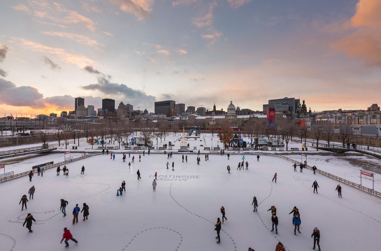 Cet hiver : Mettez votre tuque et vos mitaines et venez profitez d'une foule d'activités au Vieux-Port de Montréal