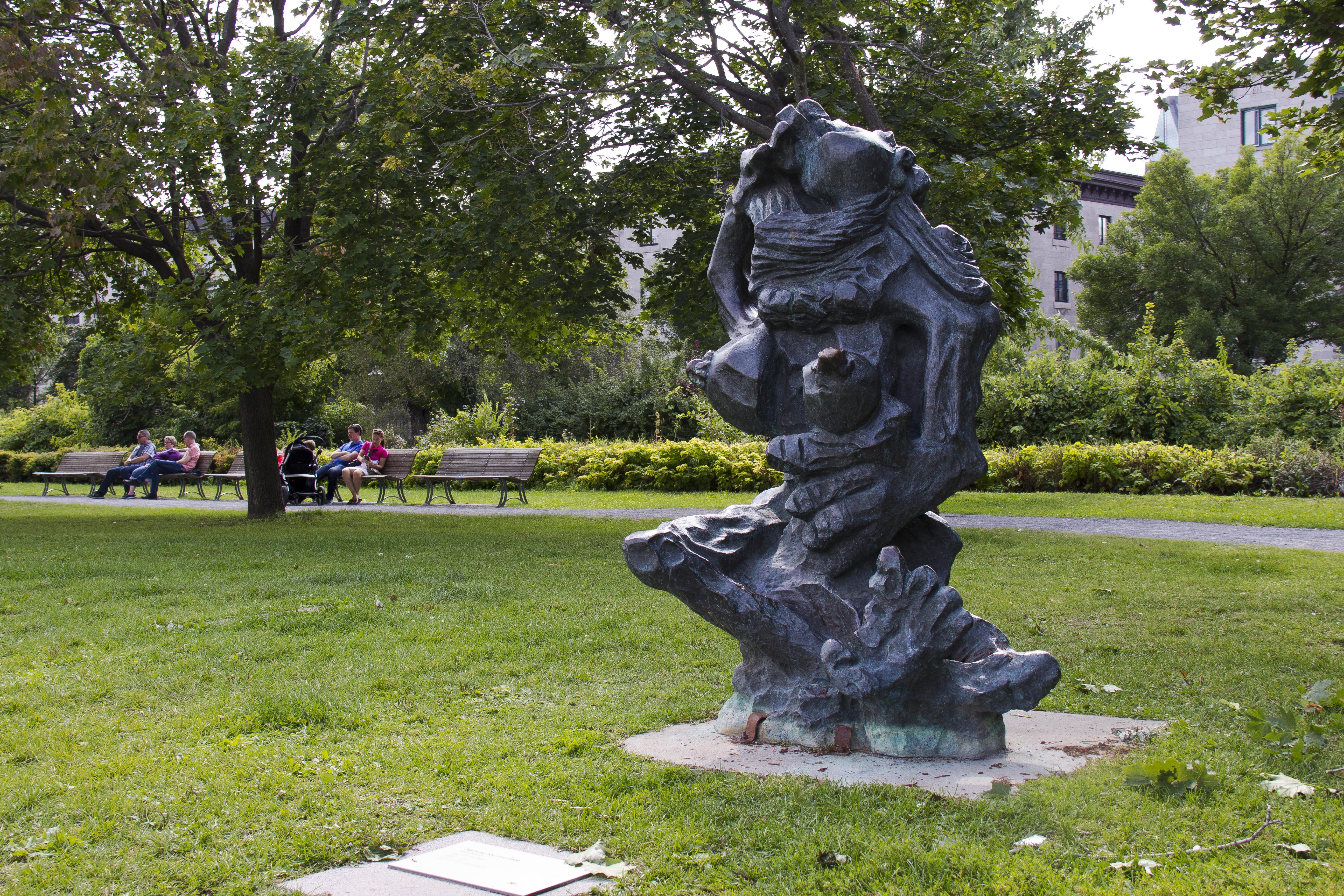 Parcours d'art public