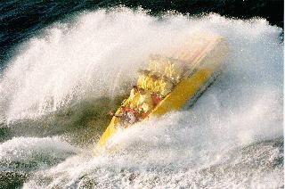 Rodeo-style Speedboating